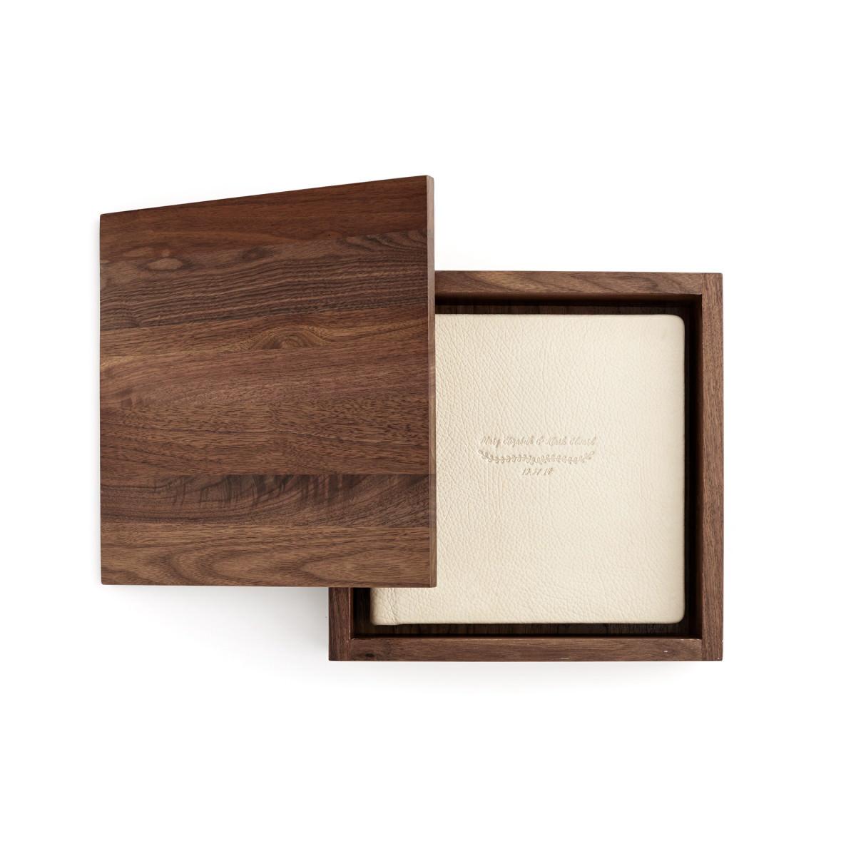 Walnut Album Box Redtree Albums