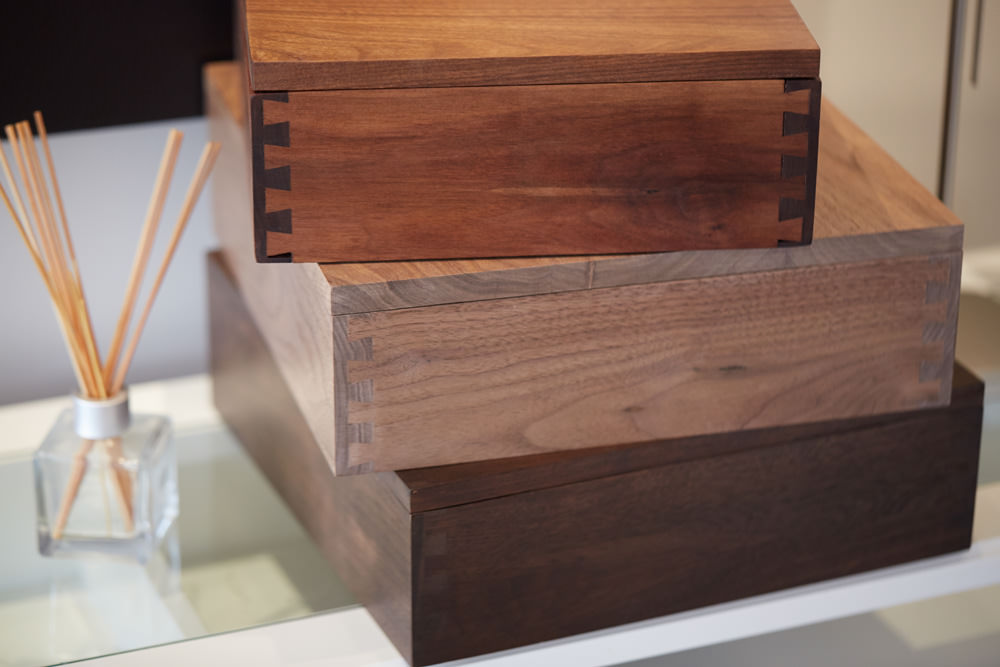 Handmade Walnut Box