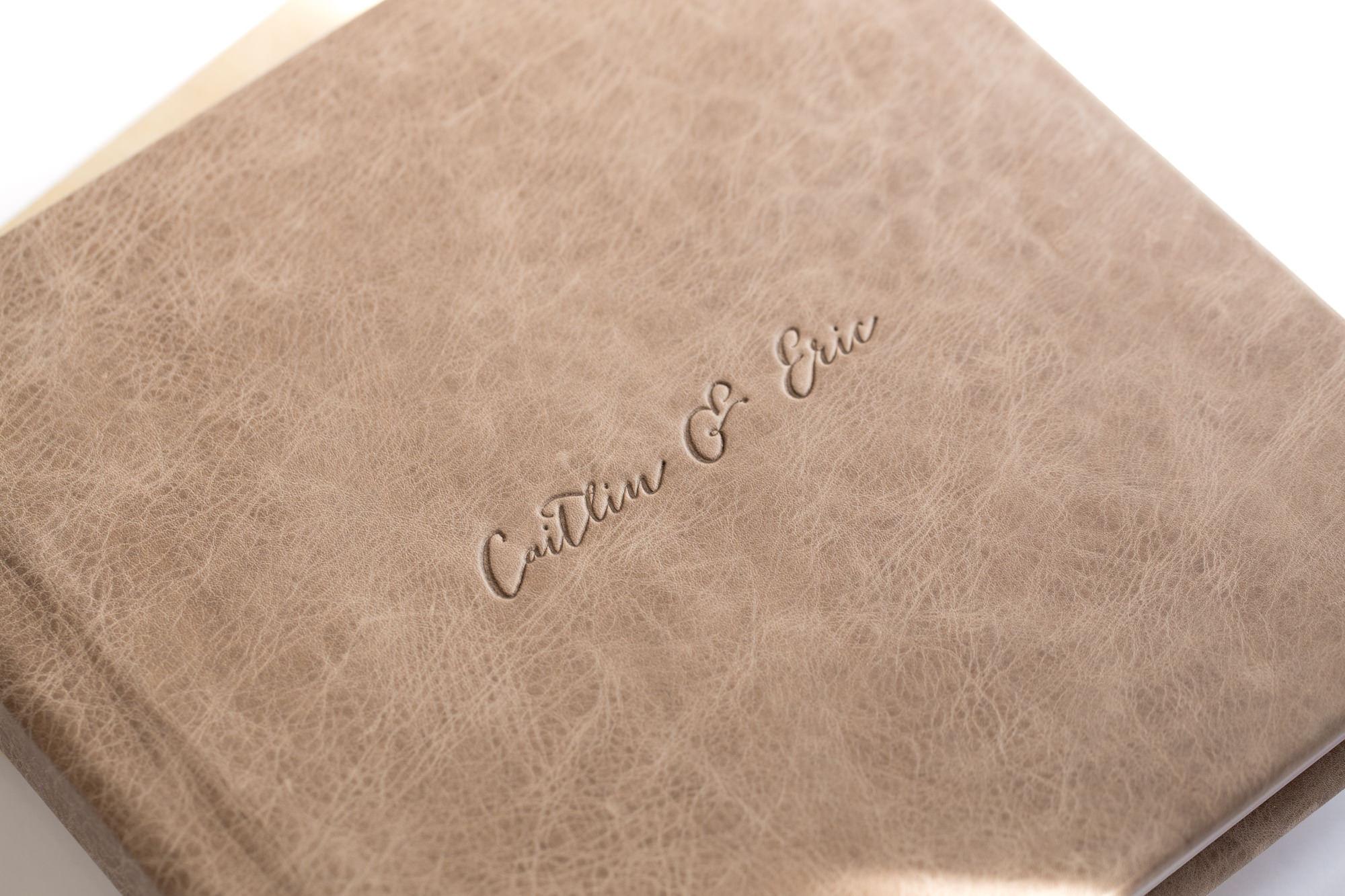 Custom Leather Imprint
